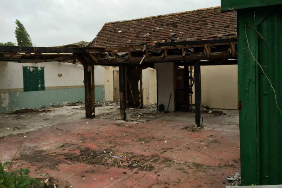 Our Story - Demolition Begins