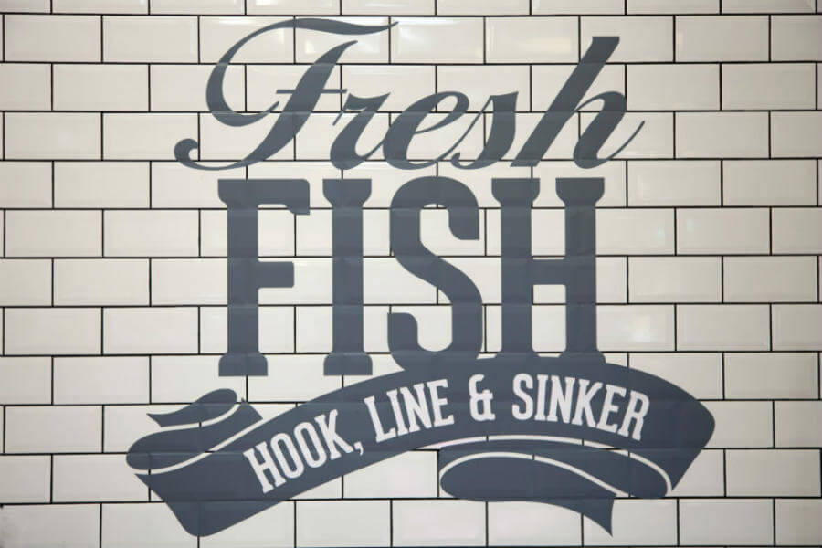 Shop Fish - Fresh Fish Signage