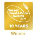 Sussex Food and Drink Awards Winner 2016