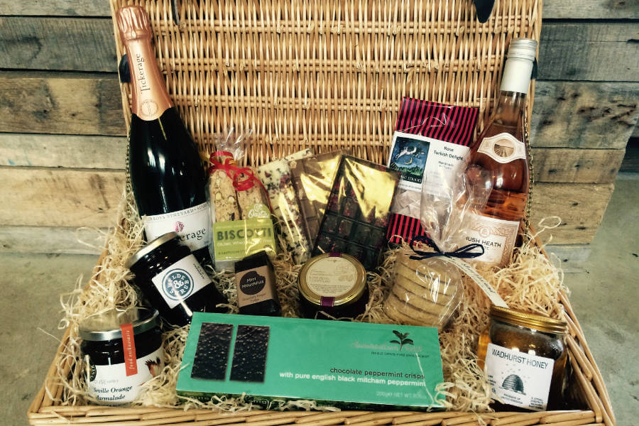 Shop Gifts and Hampers Wicker Basket