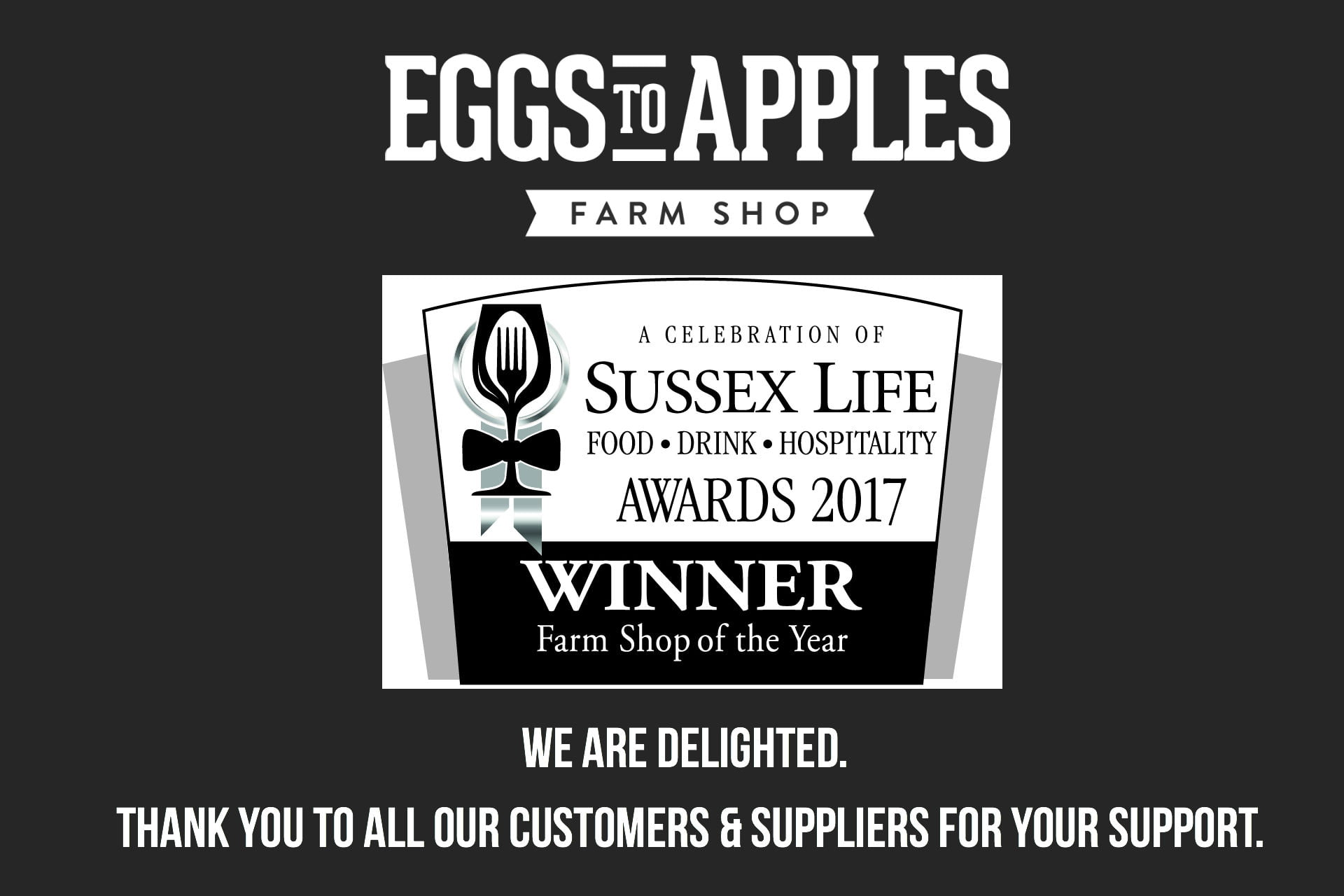 Sussex Farm Shop of the Year 2017